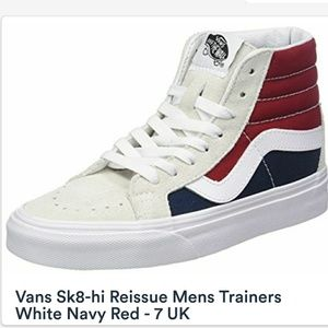 Vans sk8-hi Unisex red/white/navy